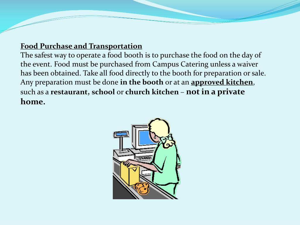 Food Purchase and Transportation