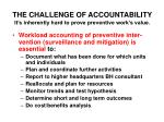 the challenge of accountability it s inherently hard to prove preventive work s value