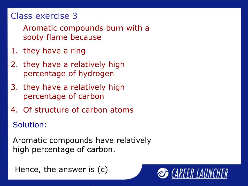 Class exercise 3
