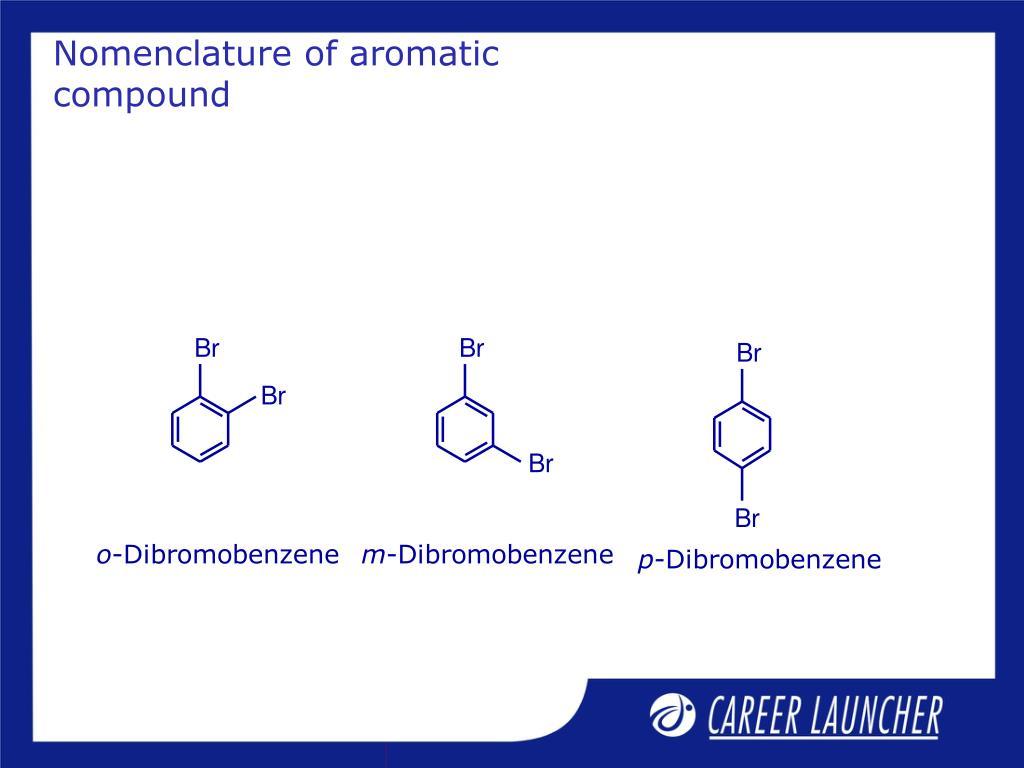 Nomenclature of aromatic compound