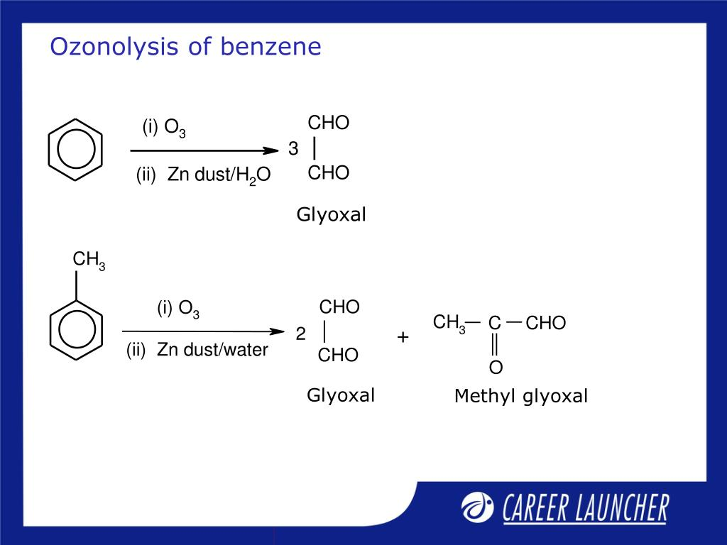 Ozonolysis of benzene