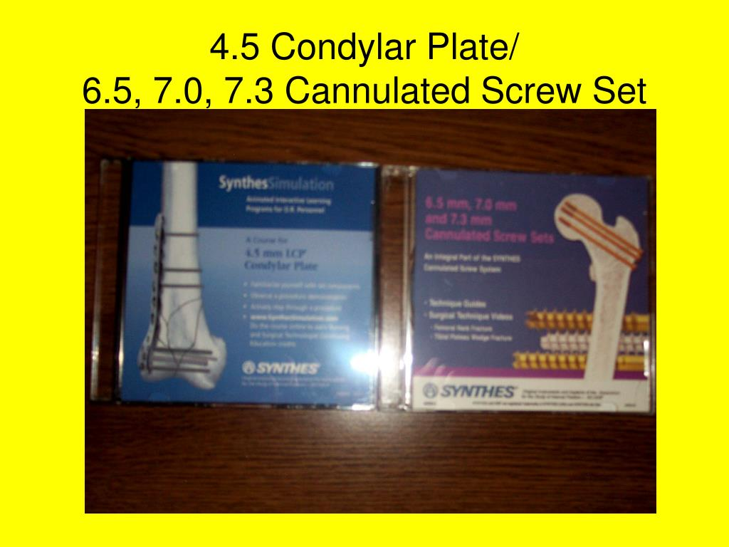 4.5 Condylar Plate/