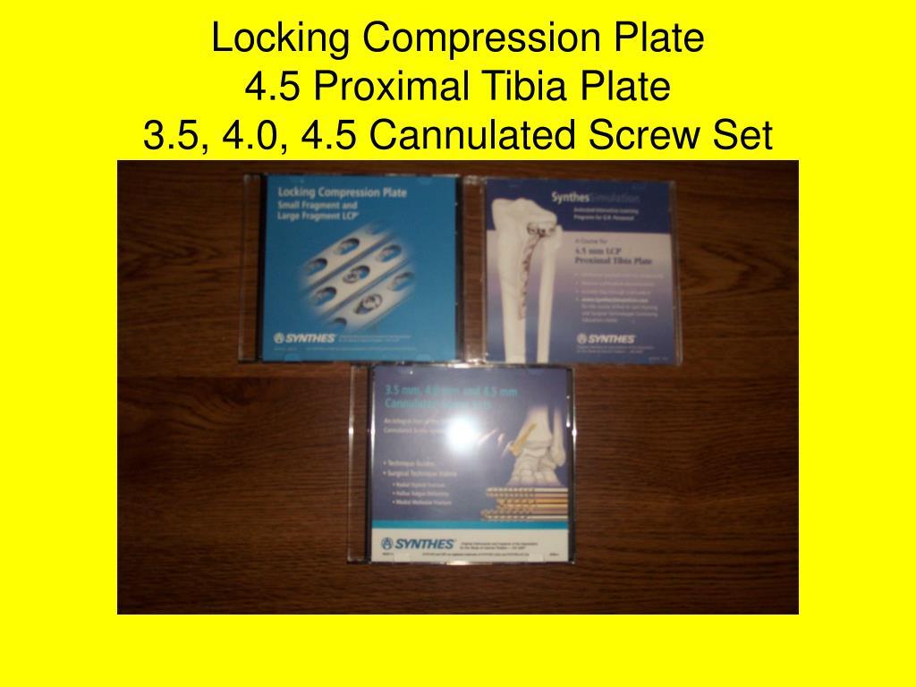 Locking Compression Plate