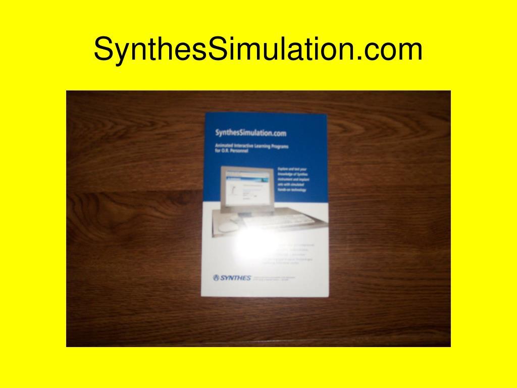SynthesSimulation.com