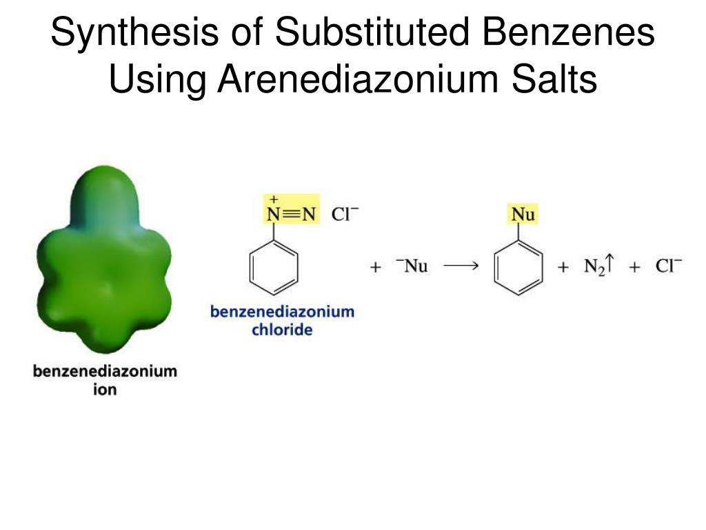 Synthesis of Substituted Benzenes Using Arenediazonium Salts