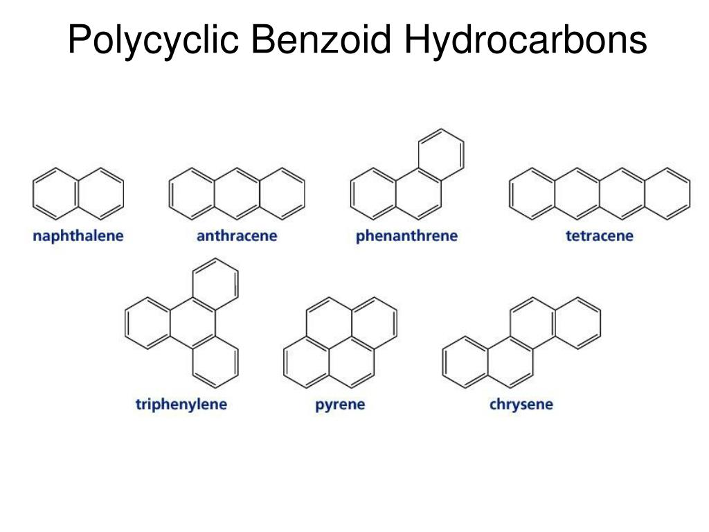 Polycyclic Benzoid Hydrocarbons