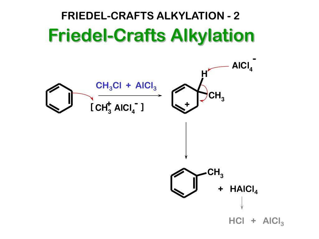 FRIEDEL-CRAFTS ALKYLATION - 2