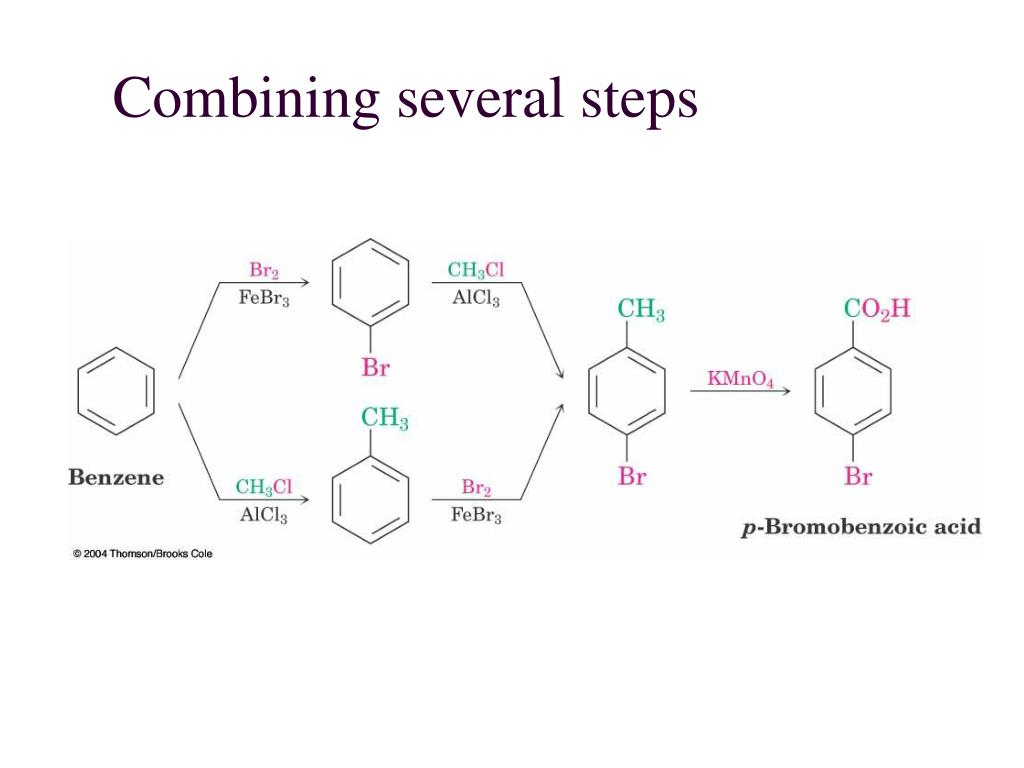 Combining several steps