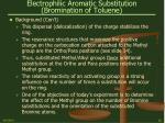 electrophilic aromatic substitution bromination of toluene10