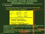 electrophilic aromatic substitution bromination of toluene15