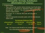 electrophilic aromatic substitution bromination of toluene24