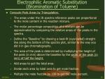 electrophilic aromatic substitution bromination of toluene25