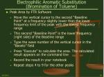 electrophilic aromatic substitution bromination of toluene29