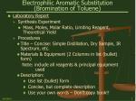 electrophilic aromatic substitution bromination of toluene3