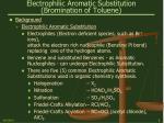 electrophilic aromatic substitution bromination of toluene6