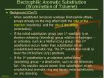 electrophilic aromatic substitution bromination of toluene8