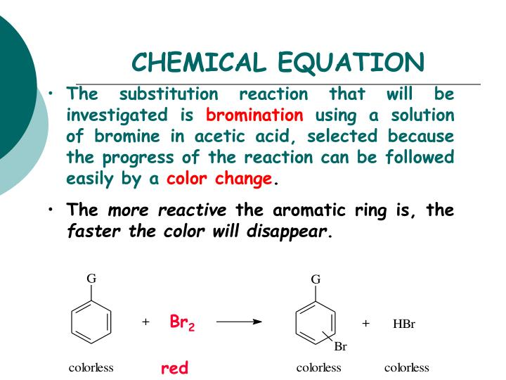 Chemical equation