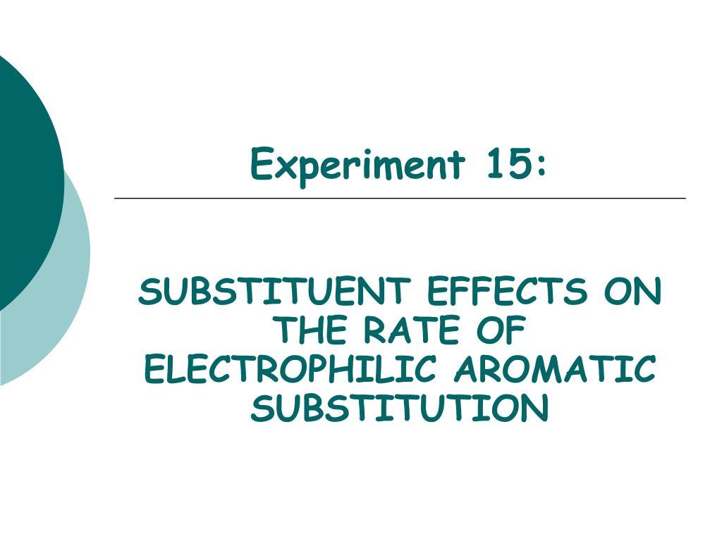 Experiment 15: