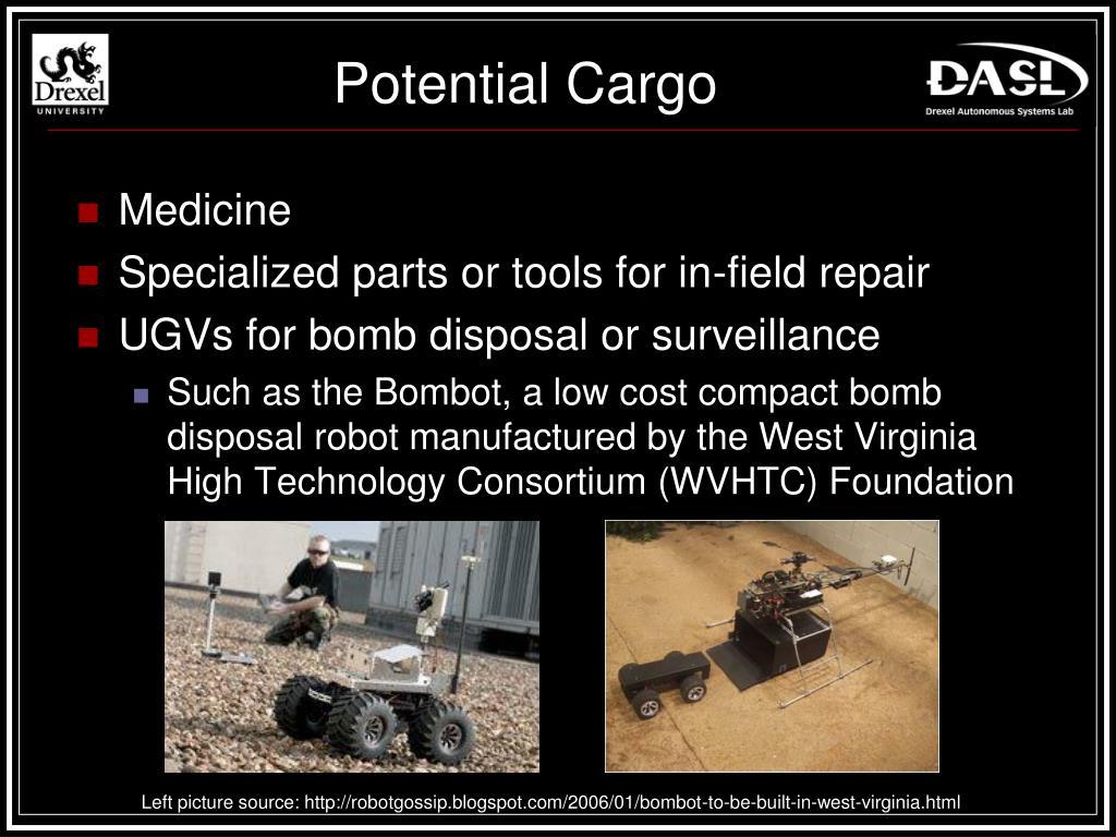 Potential Cargo
