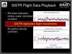 sistr flight data playback
