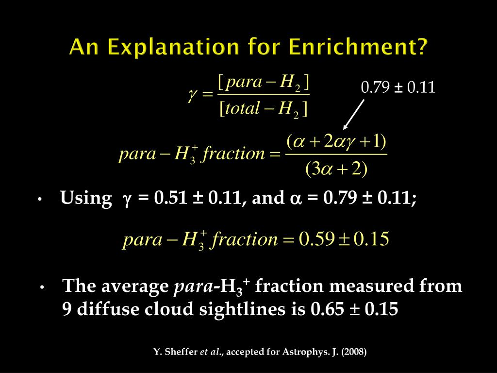 An Explanation for Enrichment?