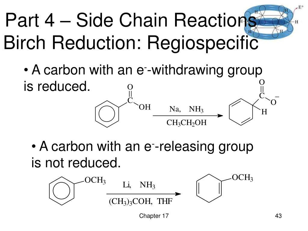 Part 4 – Side Chain Reactions