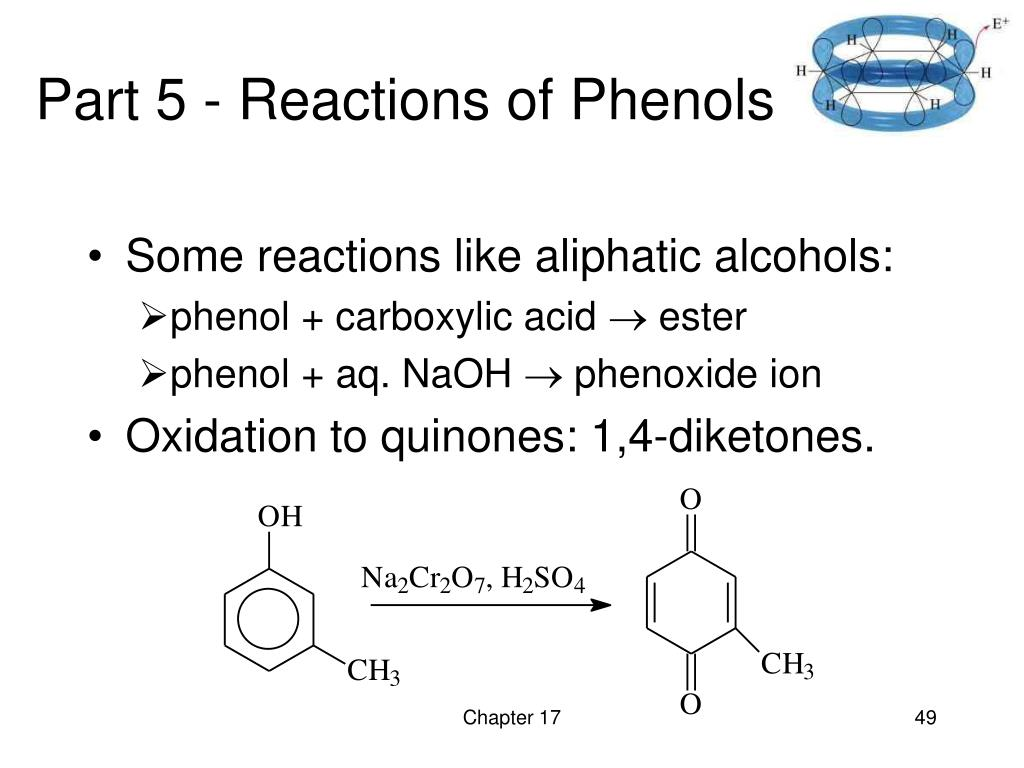 Part 5 - Reactions of Phenols