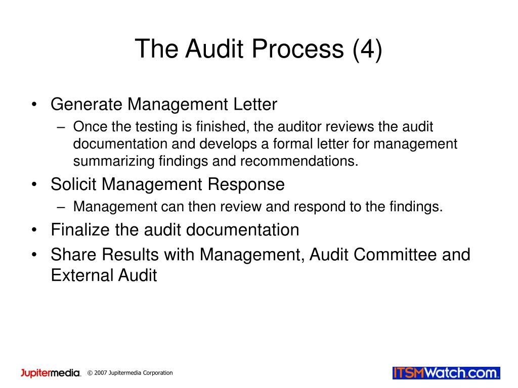 The Audit Process (4)