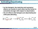 activating deactivating38