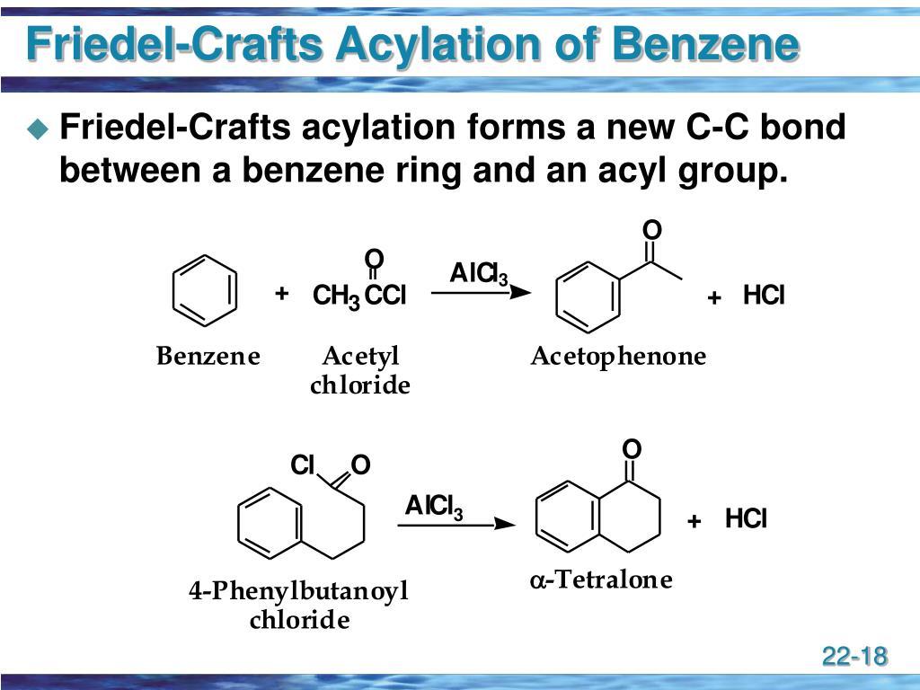 Friedel-Crafts Acylation of Benzene