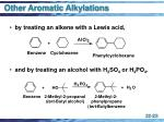 other aromatic alkylations