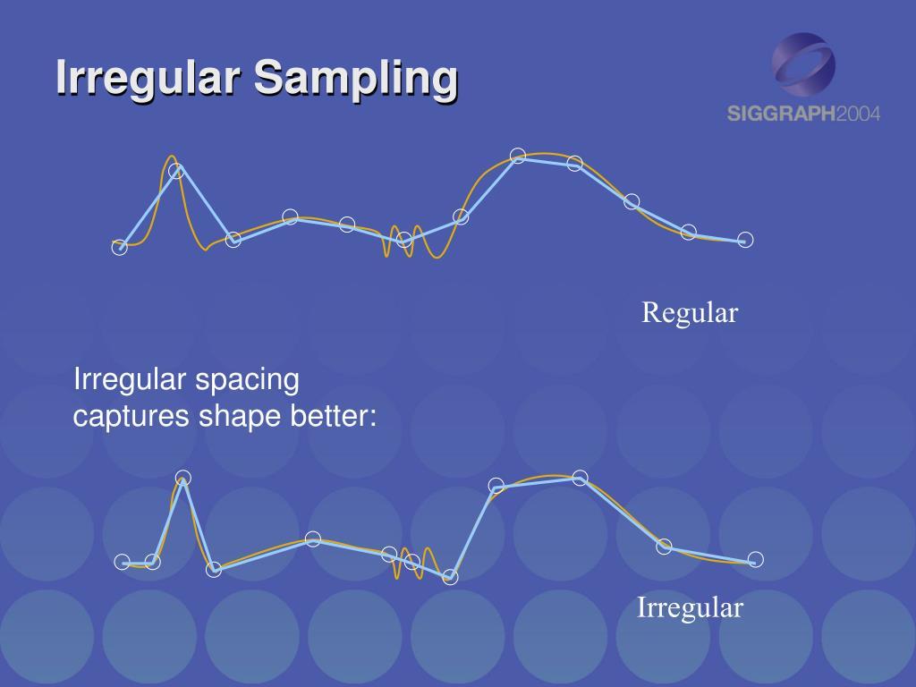 Irregular Sampling