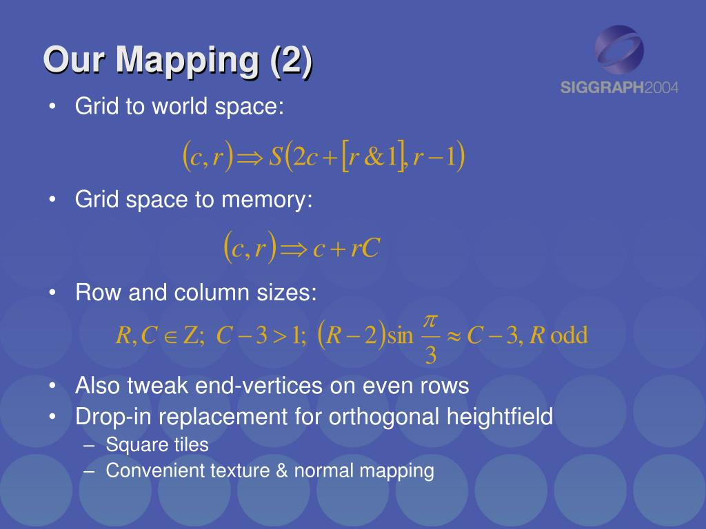 Our Mapping (2)