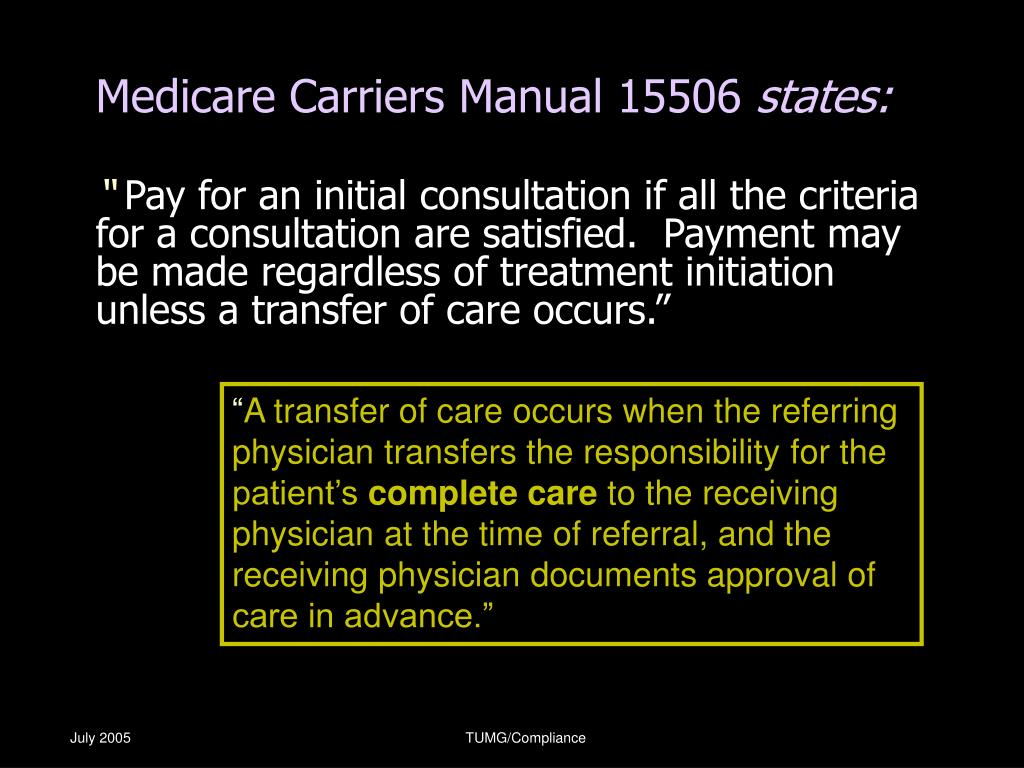Medicare Carriers Manual 15506