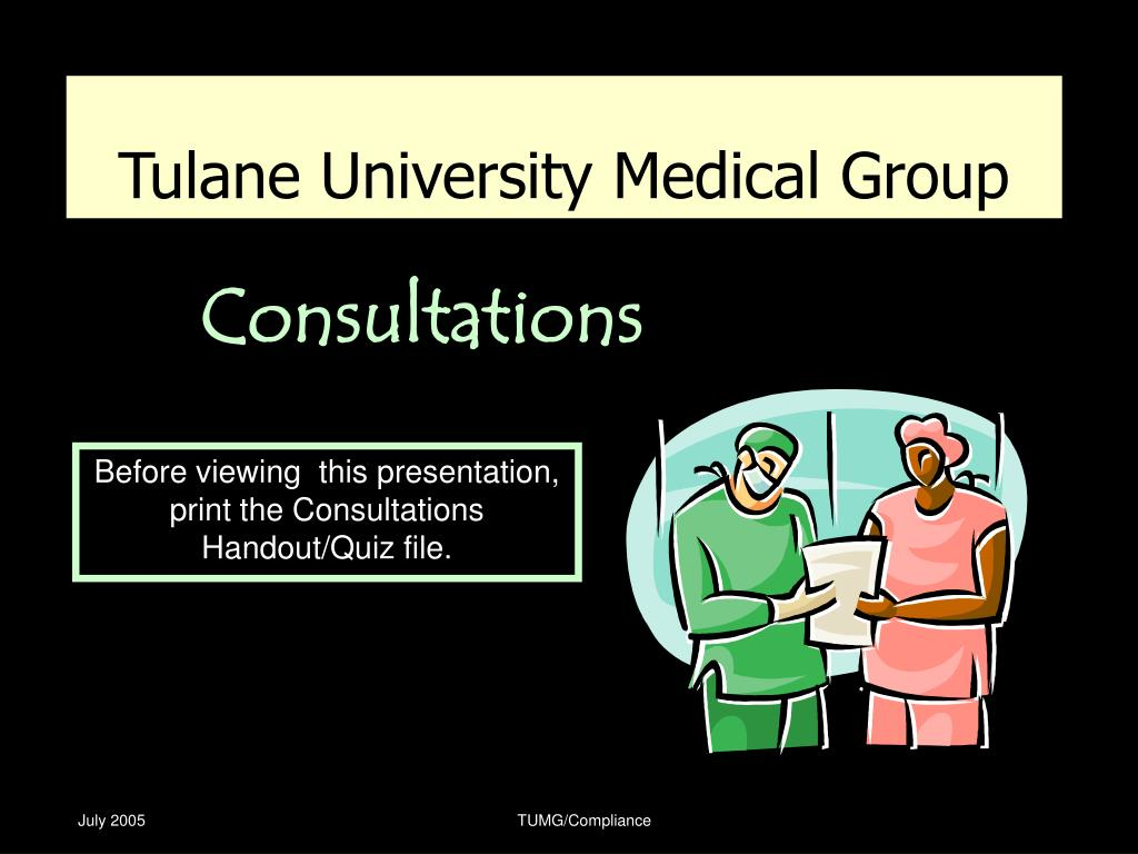 Tulane University Medical Group