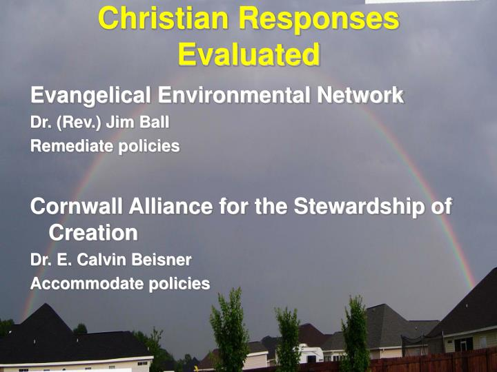 Christian Responses Evaluated