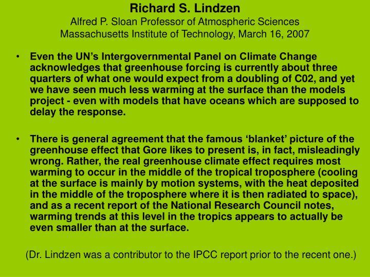 Richard S. Lindzen
