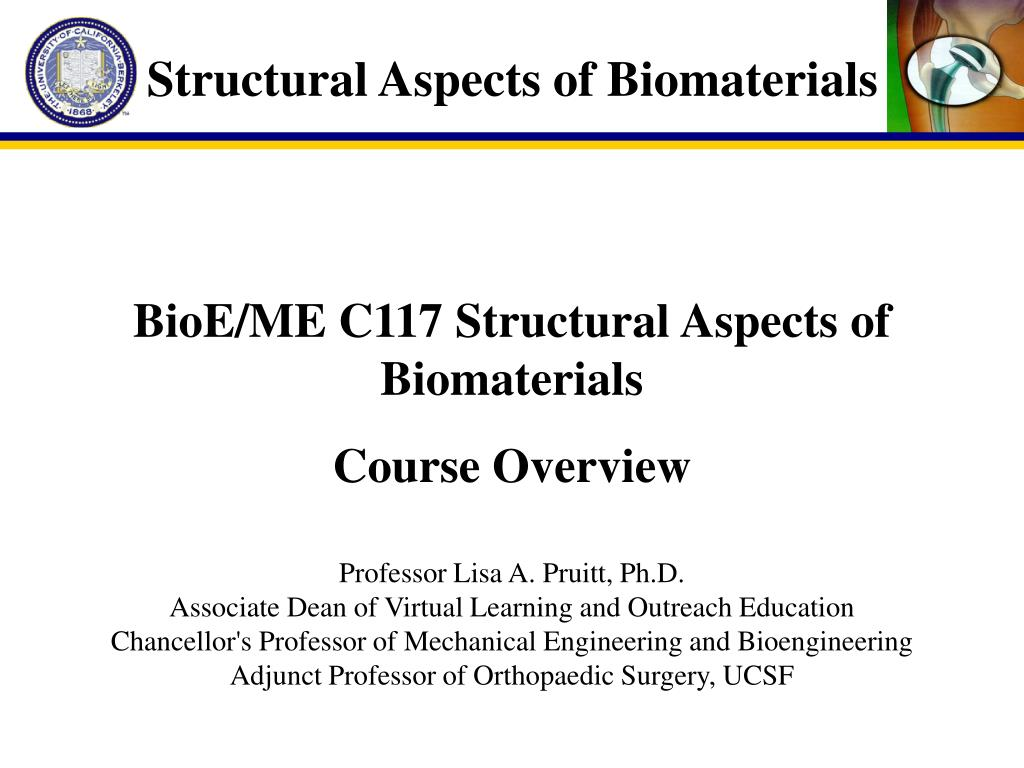 Structural Aspects of Biomaterials