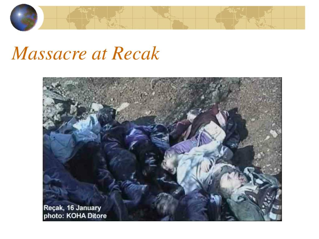 Massacre at Recak