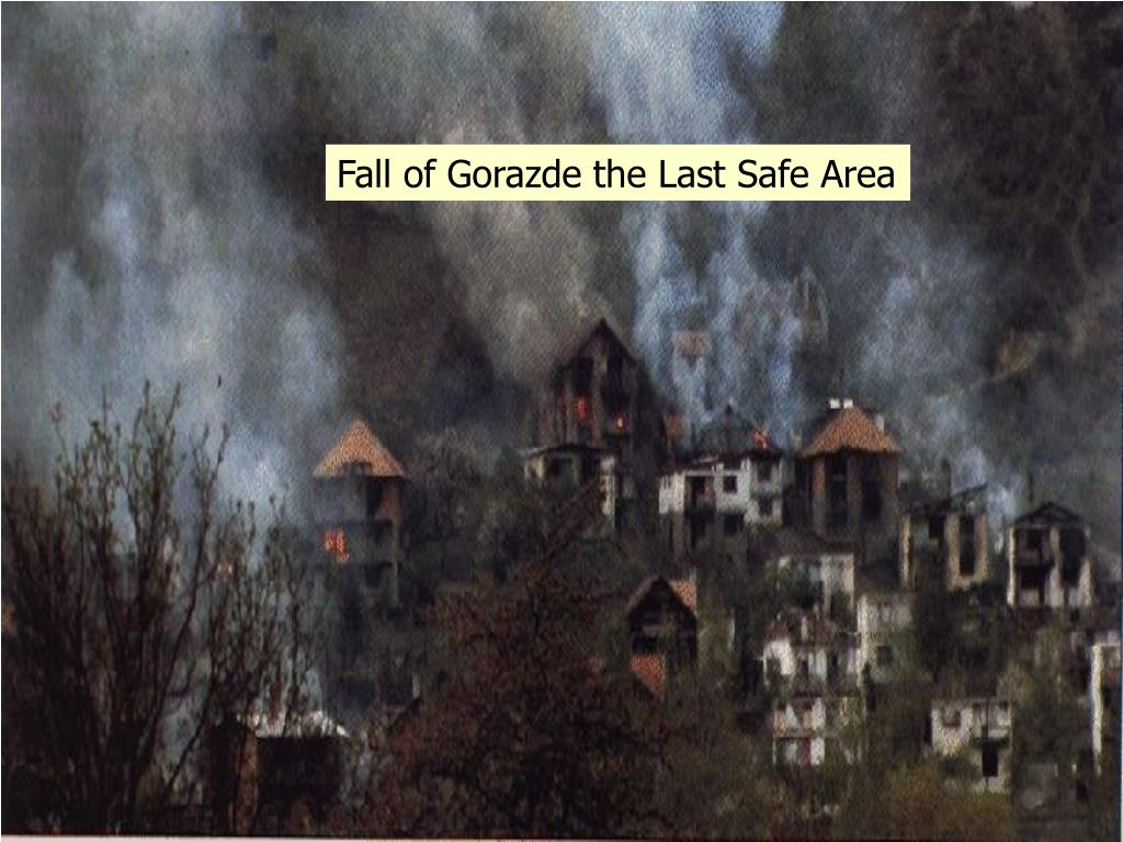 Fall of Gorazde the Last Safe Area