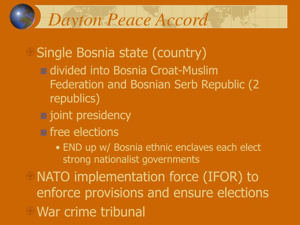 Dayton Peace Accord
