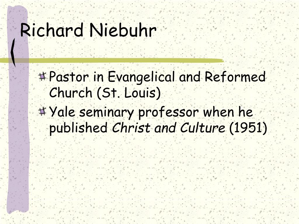 Richard Niebuhr