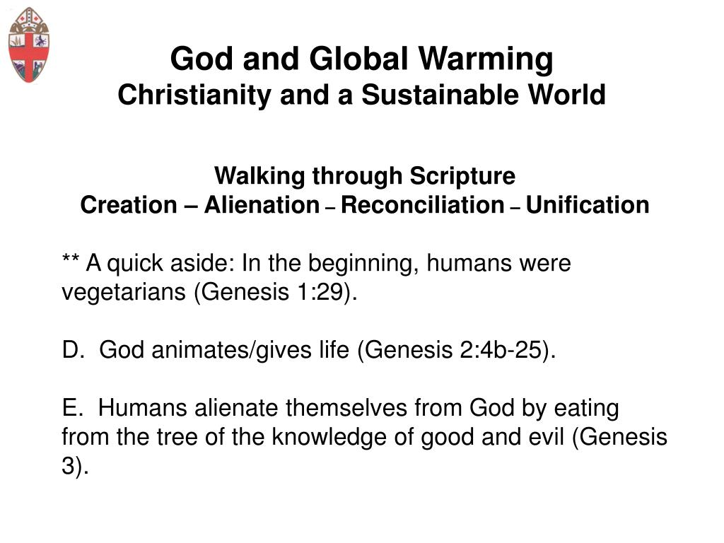God and Global Warming