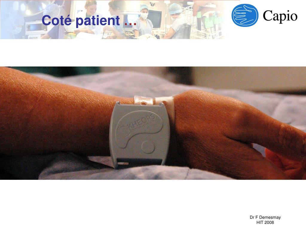 Coté patient