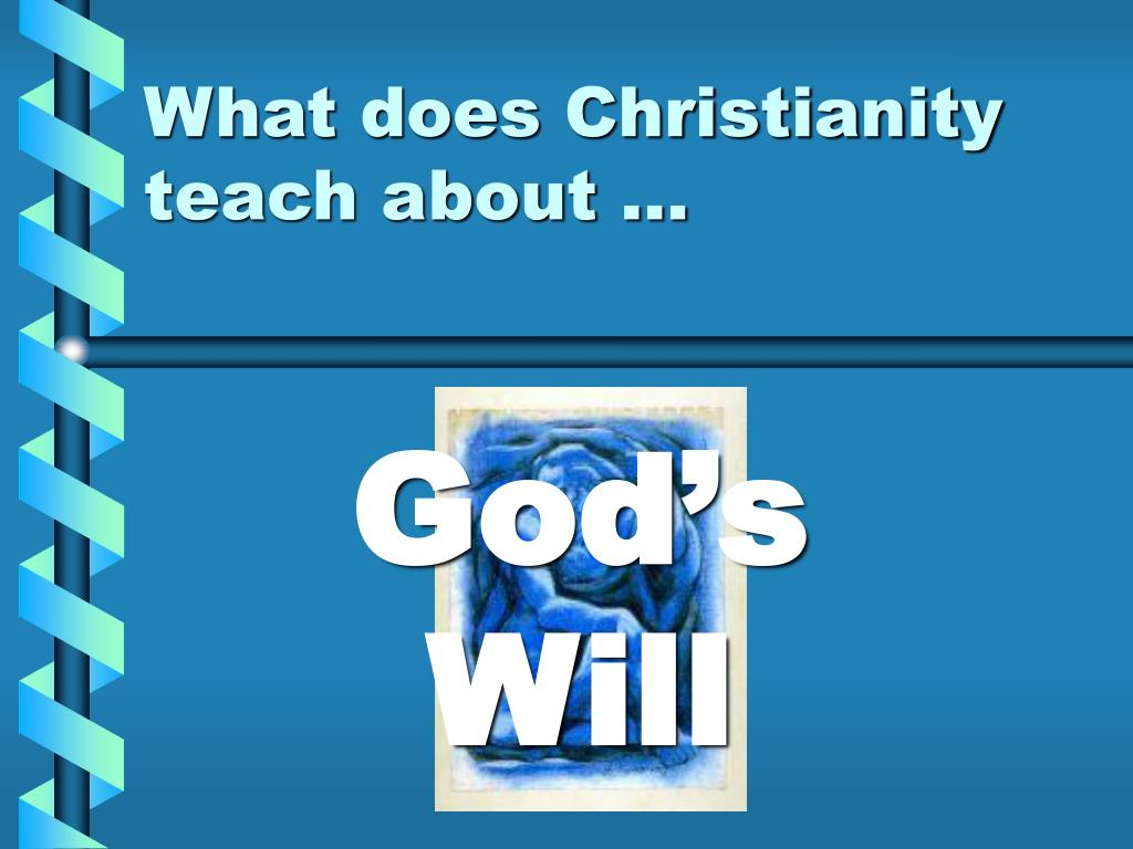 what does christianity teach about