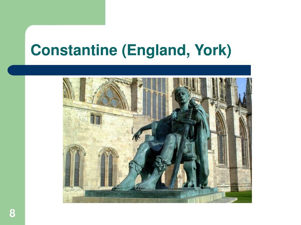 Constantine (England, York)