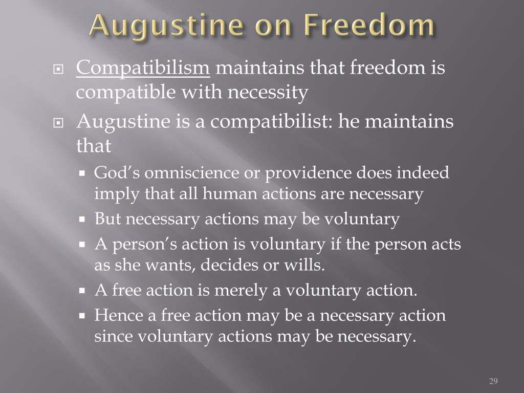 Augustine on Freedom