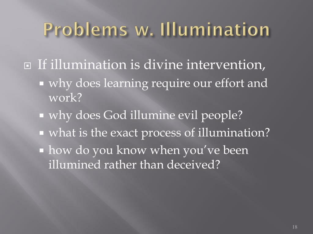 Problems w. Illumination