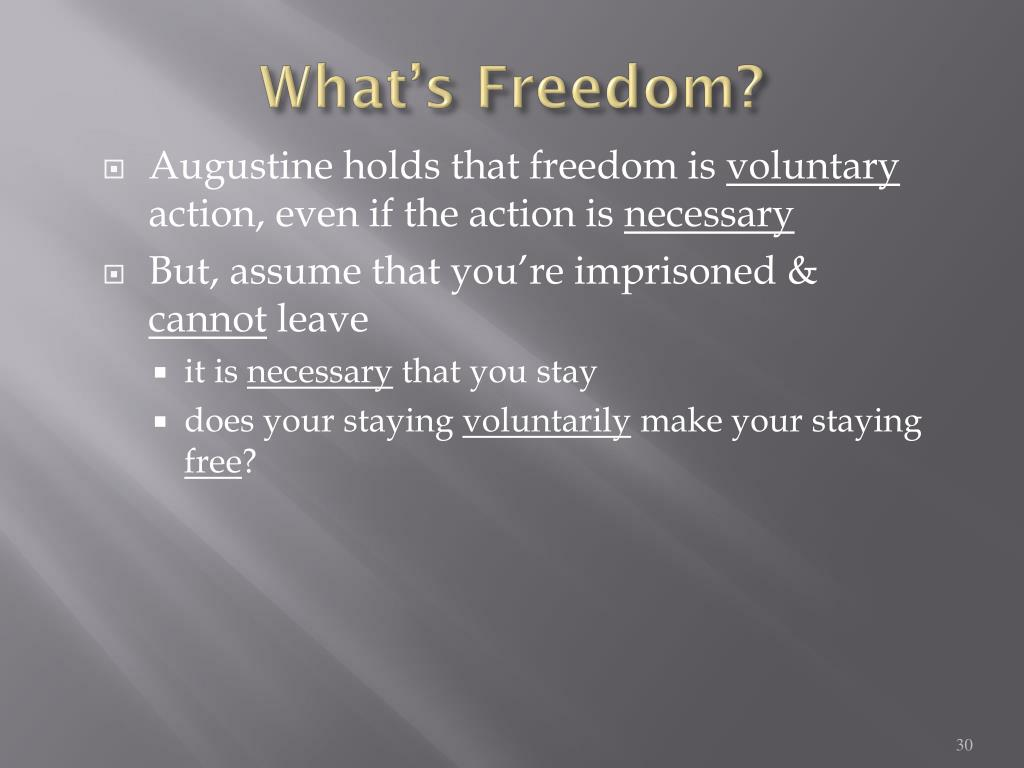 What's Freedom?