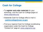 cash for college37